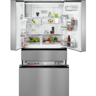 AEG Frost Free Freestanding Fridge Freezer 178.2 cm A+ RMB96716CX